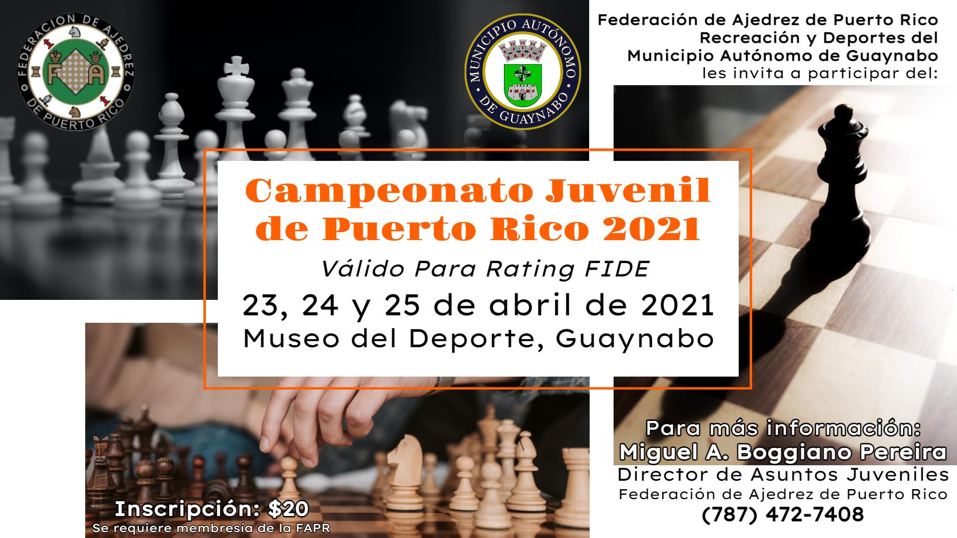 Campeonato Juvenil de Puerto Rico 2021