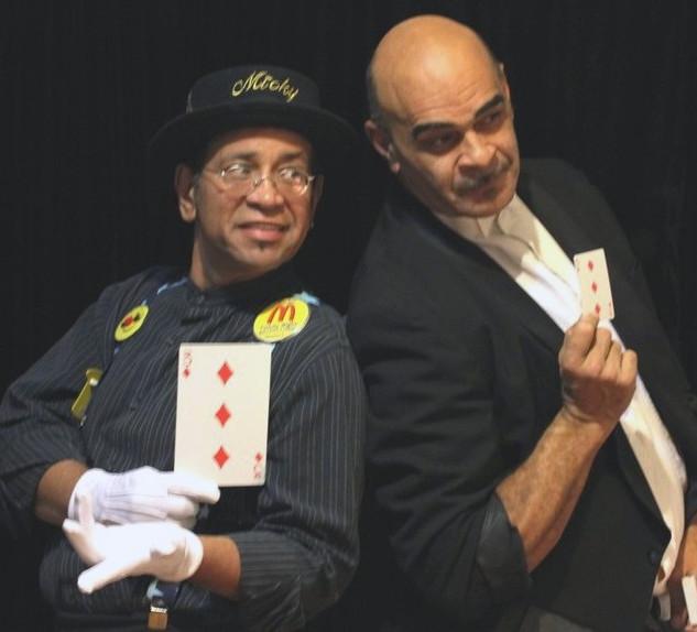 Magicians Harold and Micky Magic.JPG