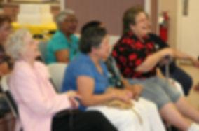 Seniors Having a good time