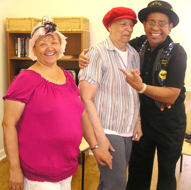 Seniors Having Fun with Micky Magic