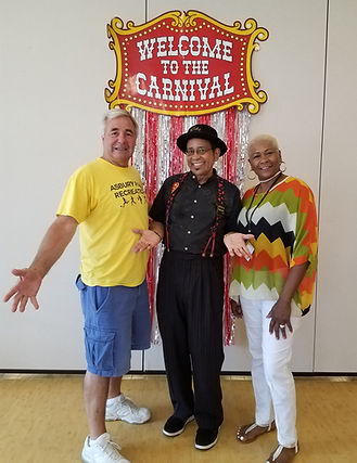 Micky Magic at the Asbury Park Senior Center