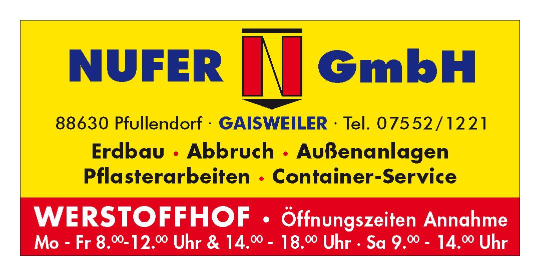 Nufer GmbH Erdbau & Containerservice