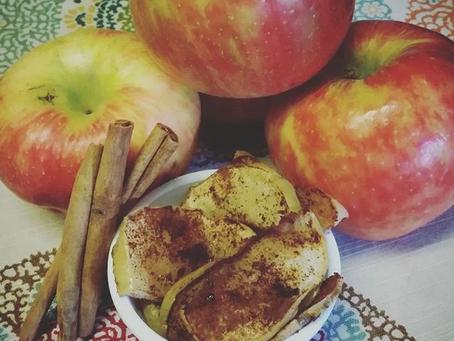 Simple Cinnamon Apple Bake (no sugar added)