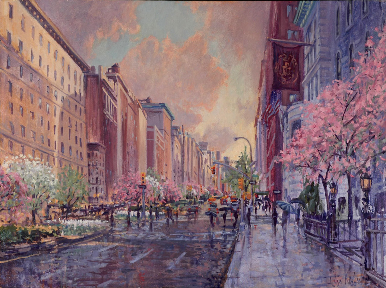 Park Avenue after the Rain
