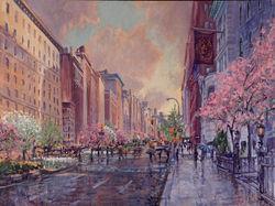 Park Avenue after the Rain
