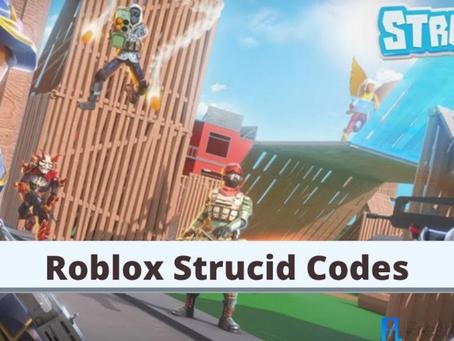 Strucid Codes - February 2021