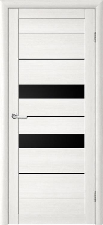 Альберо Тренд Т-4 межкомнатная дверь черное стекло