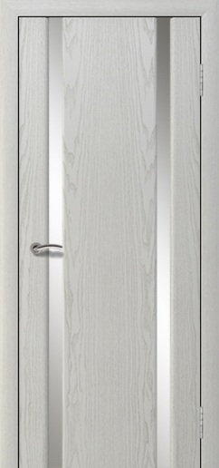 Альвион Милена-2 межкомнатная дверь белое стекло