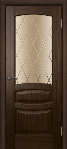 Альвион Алина межкомнатная дверь со стеклом