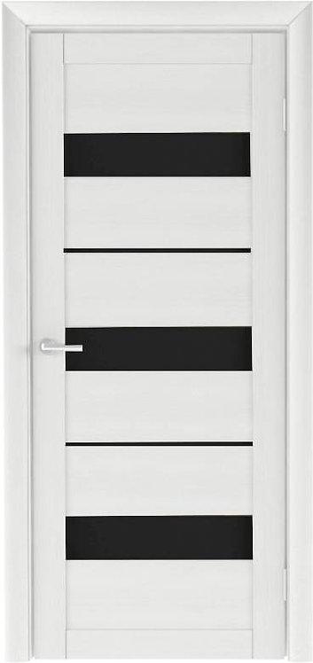 Альберо Тренд Т-7 межкомнатная дверь черное стекло