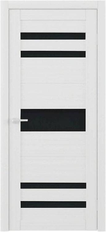 Альберо Тренд Т-10 межкомнатная дверь черное стекло
