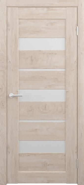 Альберо Альянс Бостон межкомнатная дверь белое стекло
