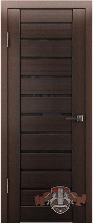ВФД Лайн Л3ПГ4 межкомнатная дверь с черным стеклом