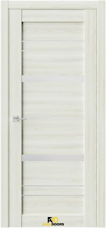 AxelDoors Q 17 межкомнатная дверь матовое стекло