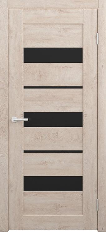 Альберо Альянс Бостон межкомнатная дверь черное стекло