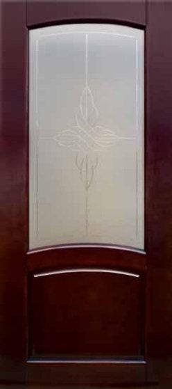 Межкомнатная дверь Аида из массива сосны