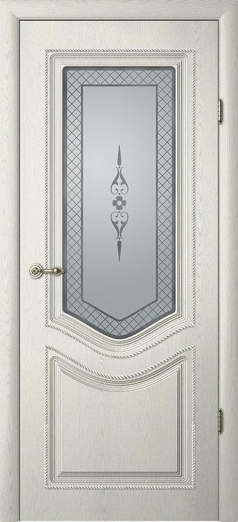 Альберо Ренессанс Рафаэль-1 межкомнатная дверь со стеклом