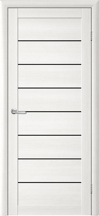 Альберо Тренд Т-1 межкомнатная дверь черное стекло