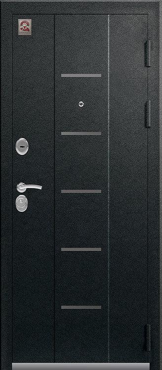 Центурион С-107 входная дверь черный муар