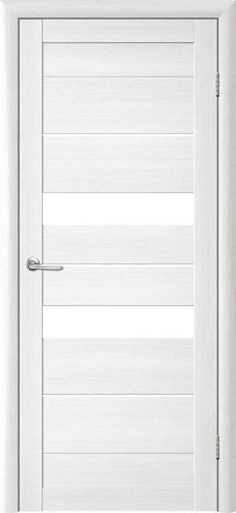 Альберо Тренд Т-4 межкомнатная дверь белое стекло