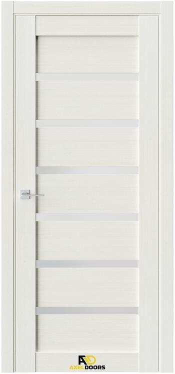 AxelDoors Q 5 межкомнатная дверь с матовым стеклом