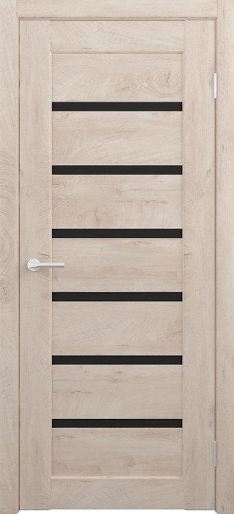 Альберо Альянс Мальта межкомнатная дверь черное стекло