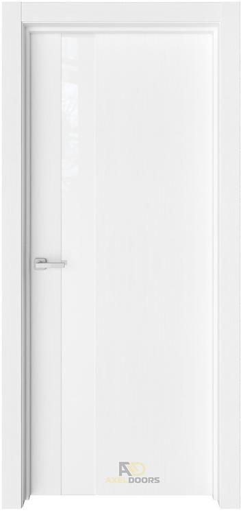 AxelDoors ЧДК Альфа межкомнатная дверь с матовым стеклом