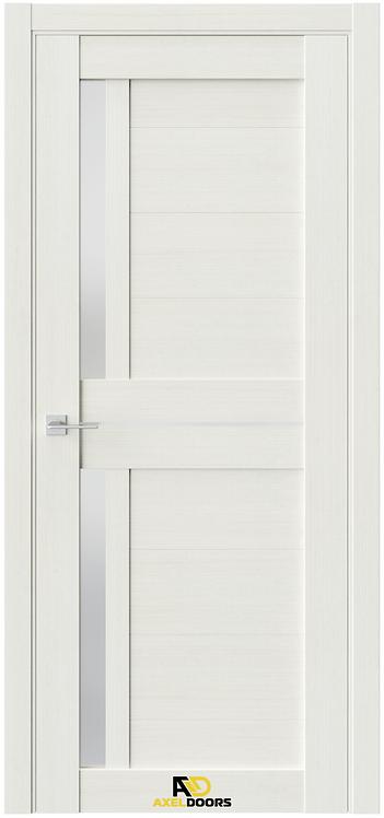 AxelDoors Q 1 межкомнатная дверь с матовым стеклом