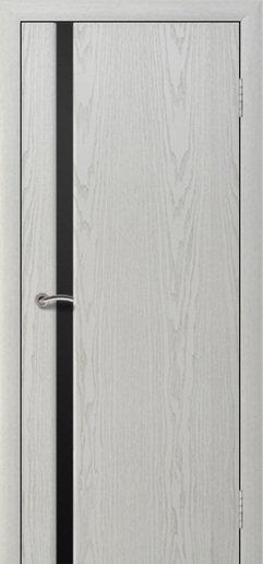 Альвион Милена-1 межкомнатная дверь черное стекло