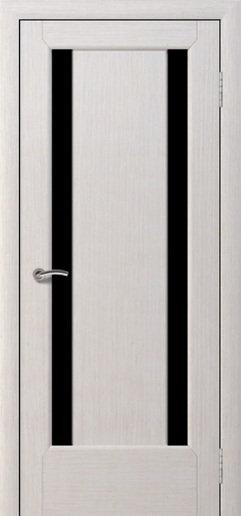 Альвион София межкомнатная дверь черное стекло