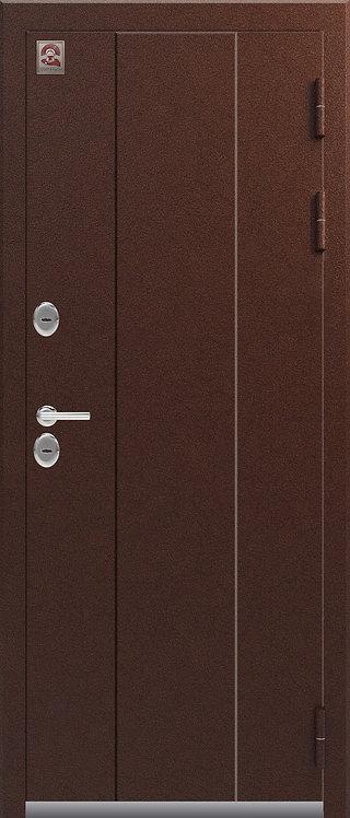 Центурион Т-3 входная дверь антик-медь