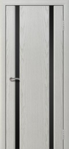 Альвион Милена-2 межкомнатная дверь черное стекло