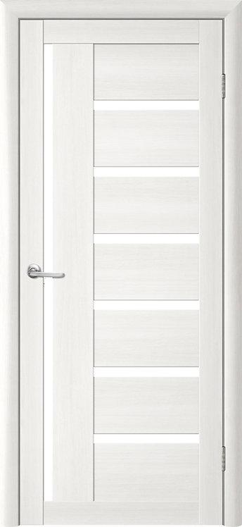 Альберо Тренд Т-3 межкомнатная дверь белое стекло