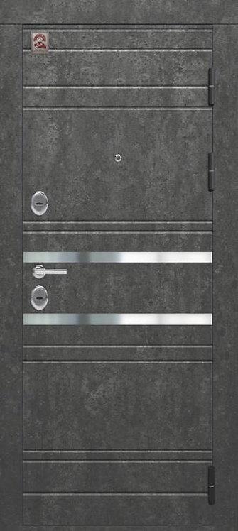 Центурион С-109 входная дверь черный муар