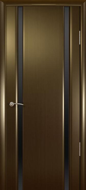 Океан Шторм-2 межкомнатная дверь черное стекло