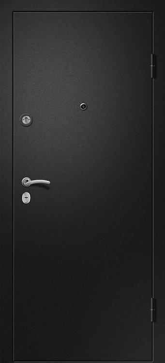 Ретвизан Медея 321 (царга) входная дверь черный сатин