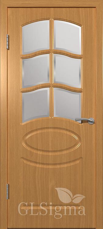 ВФД Сигма Неаполь межкомнатная дверь со стеклом