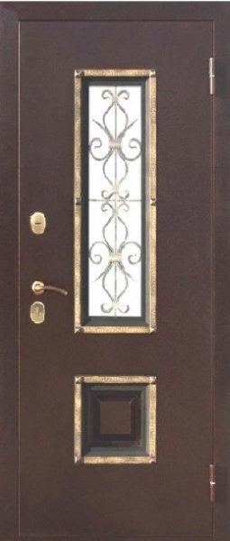 Ferroni Венеция входная дверь со стеклом