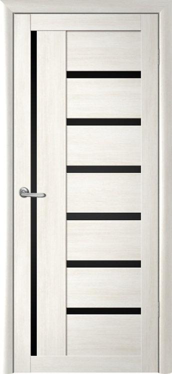 Альберо Мегаполис Мадрид межкомнатная дверь черное стекло