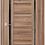 Thumbnail: AxelDoors Q 33 межкомнатная дверь с черным стеклом