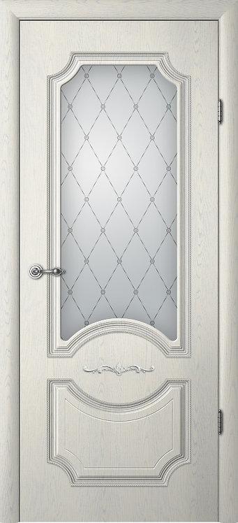 Альберо Ренессанс Леонардо-1 межкомнатная дверь со стеклом