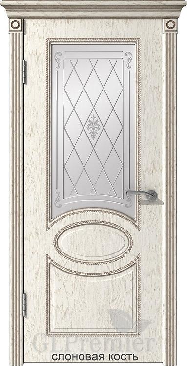 ВФД Премьер 12 межкомнатная дверь со стеклом