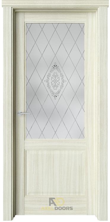AxelDoors ЧДК София межкомнатная дверь со стеклом