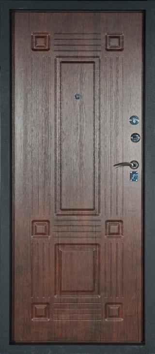 Алмаз Топаз входная дверь тиковое дерево