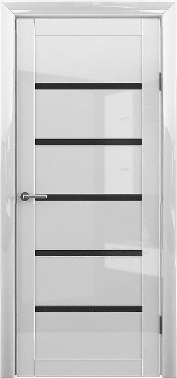 Альберо Мегаполис GL Вена межкомнатная дверь черное стекло