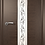 Thumbnail: ВФД Рондо межкомнатная дверь со стеклом