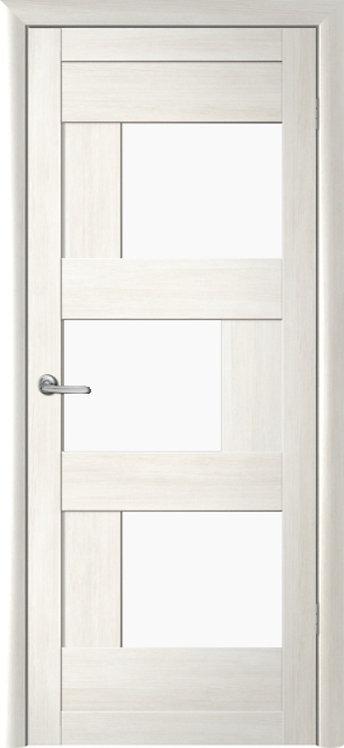 Альберо Мегаполис Стокгольм межкомнатная дверь белое стекло