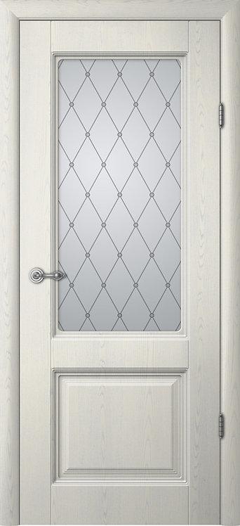 Альберо Ренессанс Тициан-1 межкомнатная дверь со стеклом
