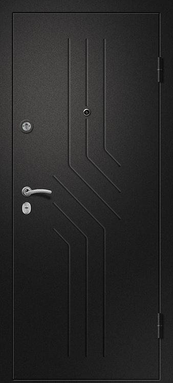 Ретвизан Аризона 215 входная дверь черный сатин