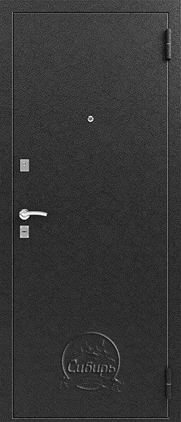Сибирь S-1/1 входная дверь серебро
